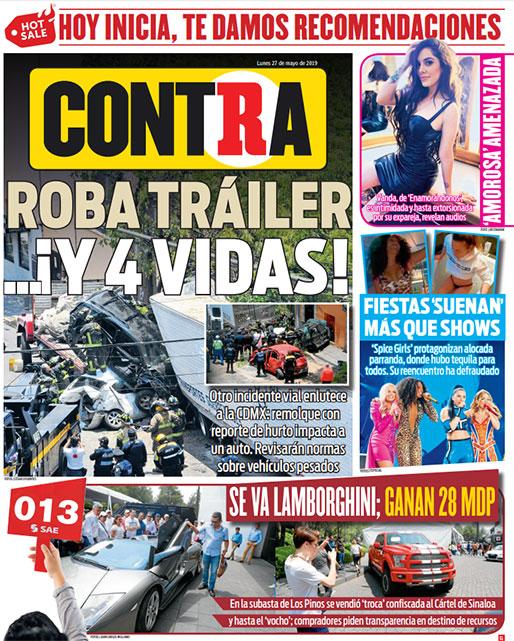 Portada Contra 27-05-2019