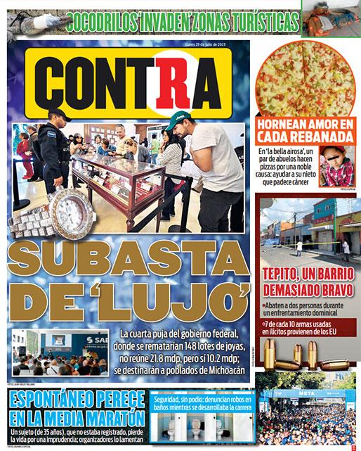 Portada Contra 29-07-2019