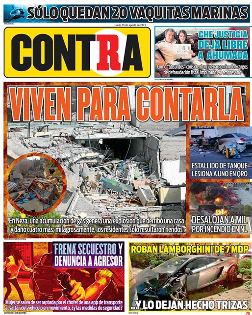 Portada Contra 19-08-2019