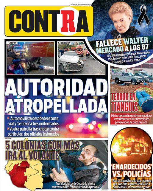 Portada Contra 04-11-2019