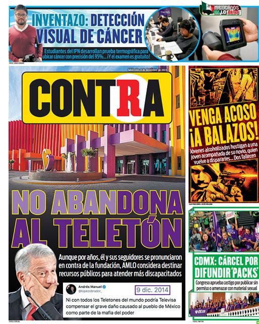 Portada Contra 04-12-2019