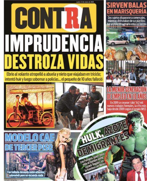 Portada Contra 13-01-2020