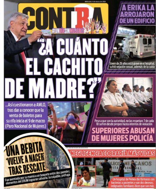 Portada Contra 04-03-2020
