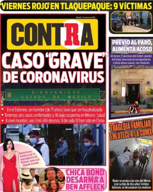 Contra Portada RÉCORD 2020-03-07