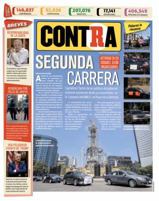 Portada Contra 15-06-2020