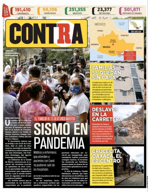Portada Contra 24-06-2020