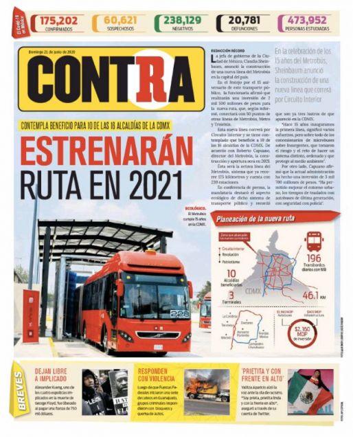 Portada Contra 21-06-2020