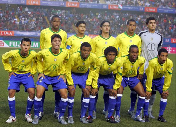 Resultado de imagen para Brasil seleccion sub 17 2005