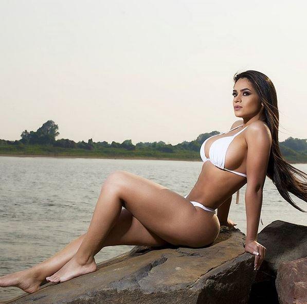 Andrea Araujo Sensual Madrina Del Olimpia Récord