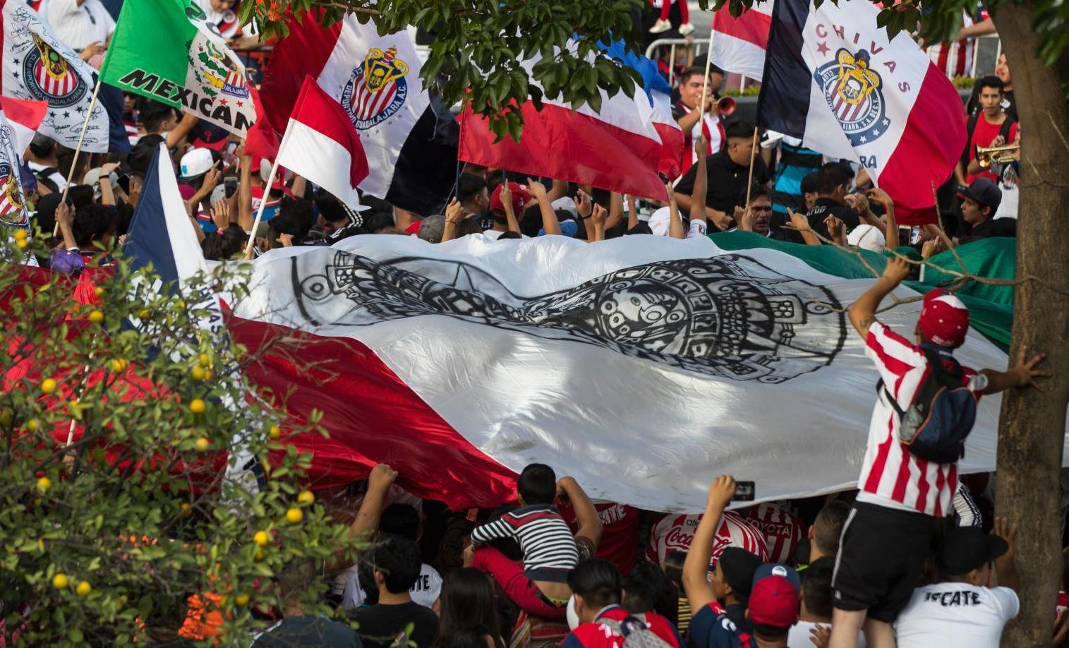 La emblemática bandera representó un sentimiento