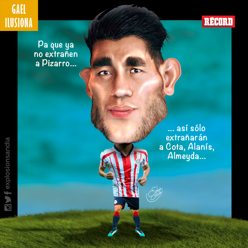 El jugador de Chivas ha evolucionado con Cardozo