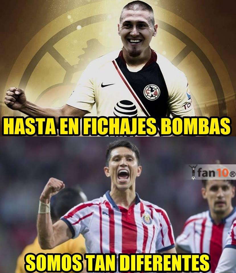Memes no perdonan fichaje de Nico Castillo con América