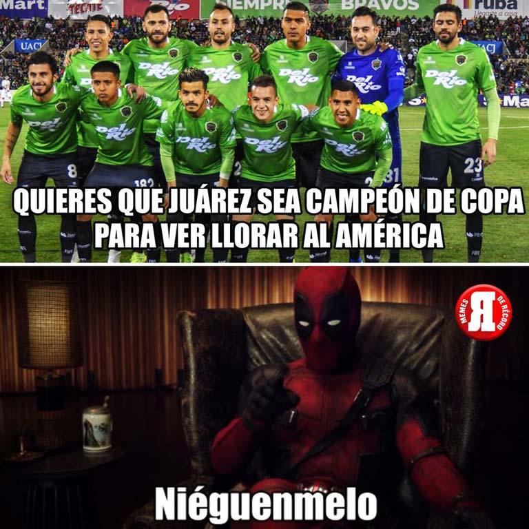 Título de América en Copa MX desata los memes en redes sociales