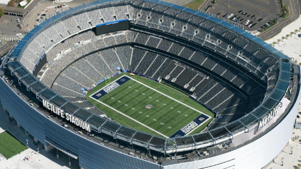El Metlife Stadium visto desde arriba
