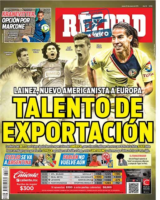 Talento de exportación