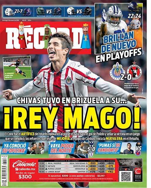 Chivas tuvo en Brizuela a su Rey Mago