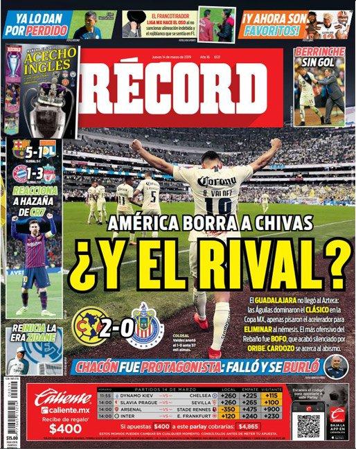 América borra a Chivas