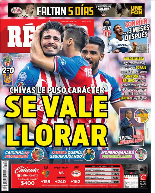 Chivas le puso carácter contra Tigres