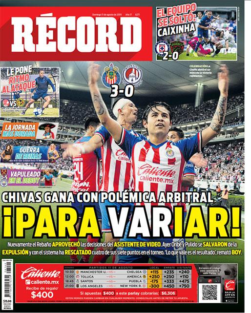 Chivas gana con el VAR