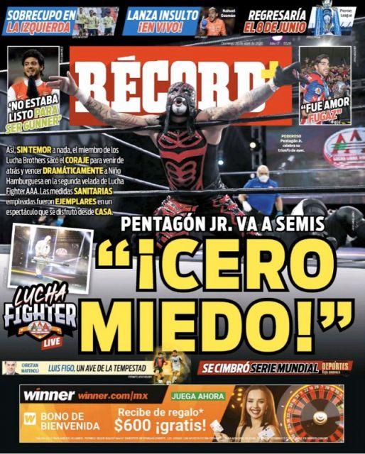 Pentagón Jr va a Semifinales