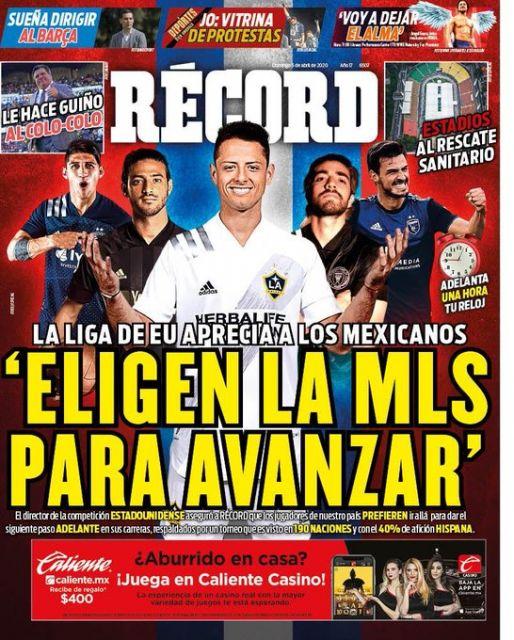 Mexicanos eligen MLS para avanzar