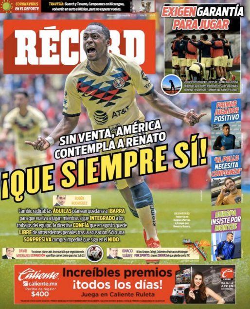América planea quedarse con Renato Ibarra