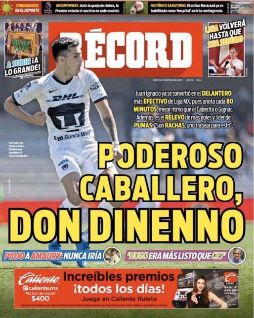 Dinenno, el delantero más efectivo de la Liga MX