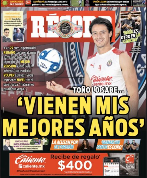 Toño Rodríguez confía que su mejor versión aún no llega