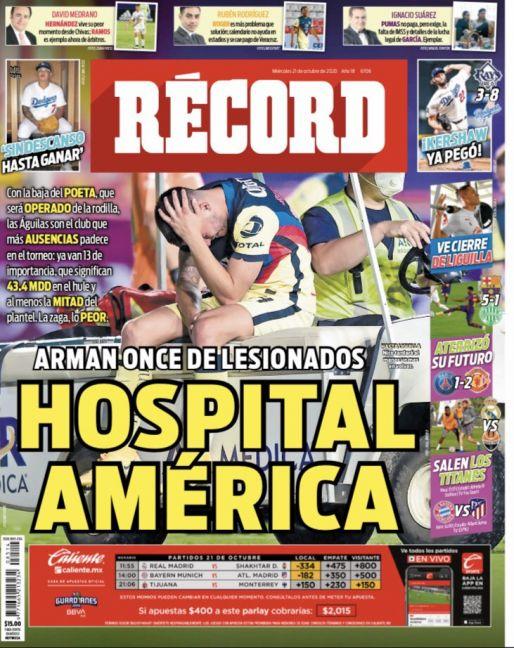 América es un hospital