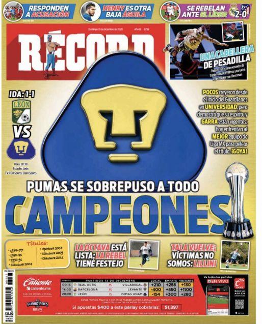 Pumas, Campeón