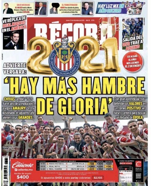 Chivas cambió en 2020