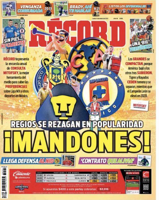 América, Chivas, Cruz Azul y Pumas mandan