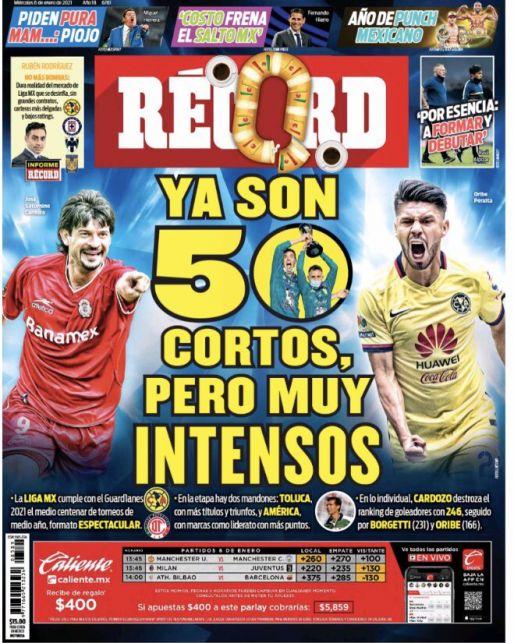 Liga MX: 50 torneos cortos