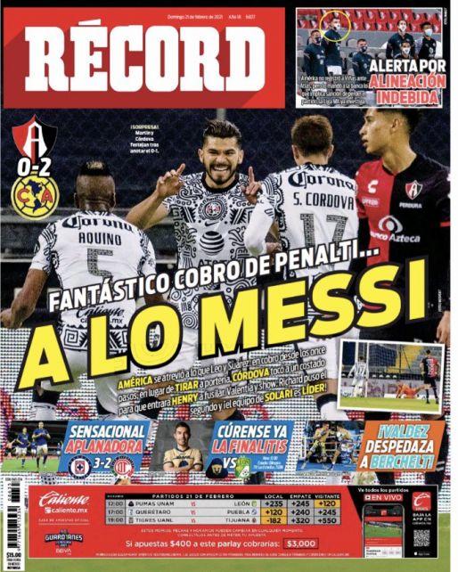 América se atrevió a lo Messi