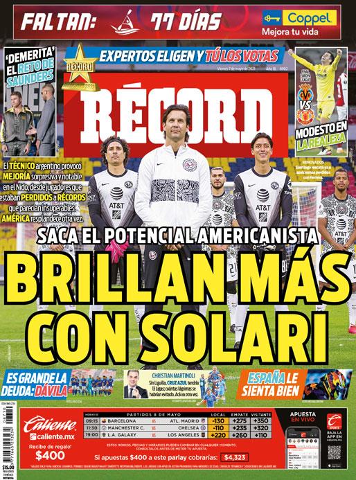 Saca potencial americanista, brillan más con Solari