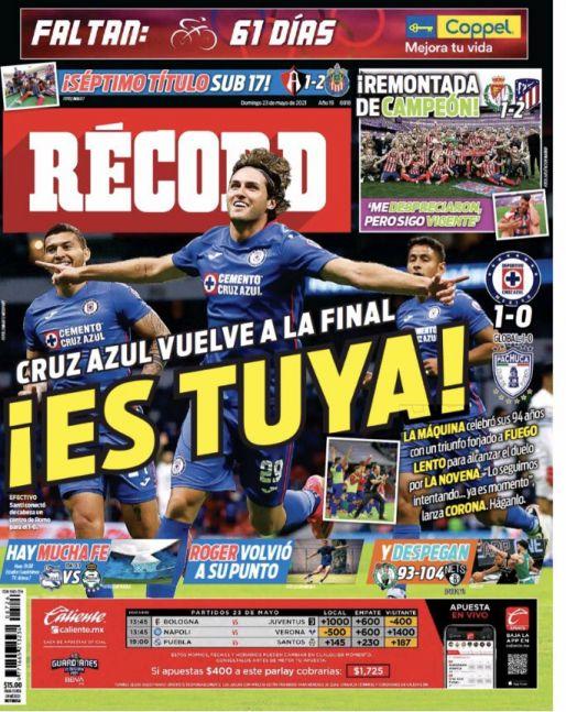 Cruz Azul vuelve a la Final
