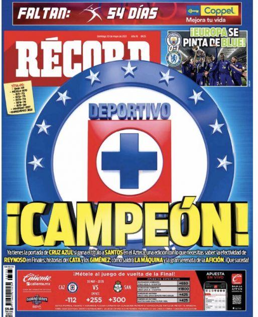 Cruz Azul, Campeón