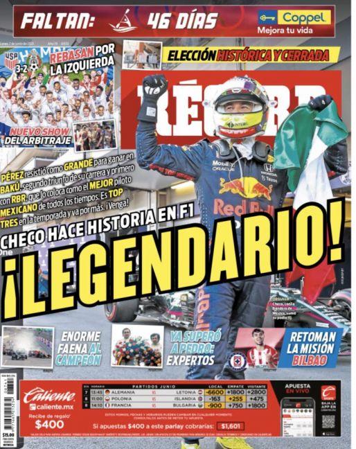 Checo Pérez hace historia en F1
