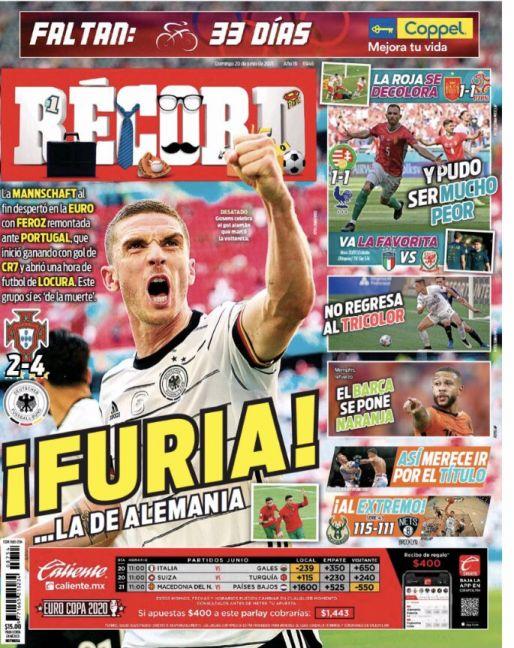 Alemania venció a Portugal