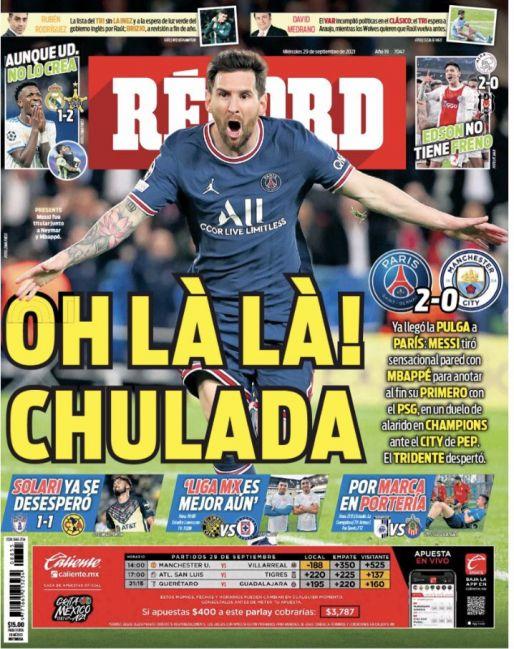 Messi anotó chulada de gol