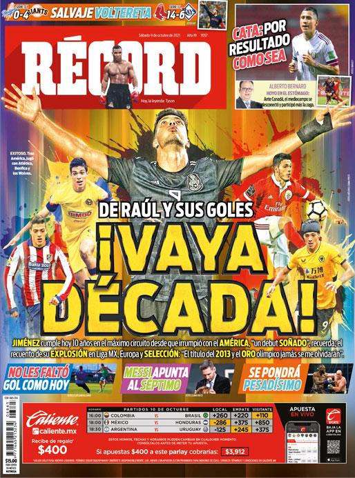 De Raúl y sus goles ¡Vaya Década!