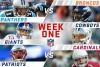 Imagen de los partidos de la Semana 1 de NFL