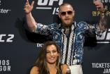 McGregor en un evento de la UFC