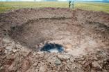 Así dejó la tierra la caída del meteorito