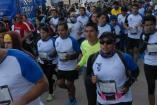 Algunos corredores durante el evento organizado por Querétaro