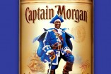 La etiqueta de la edición especial de Capitán Morgan