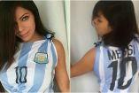 Miss Bum Bum trató de convencer a Messi con estas fotografías