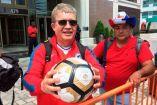 Jorge Vásquez, el aficionado chileno que se quedó con el balón del penal fallado por Messi