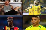 Algunos looks de jugadores del balompié mundial