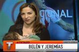 En cámara, la periodista argentina María Belén Musolino amamanta a su hijo, Jeremías